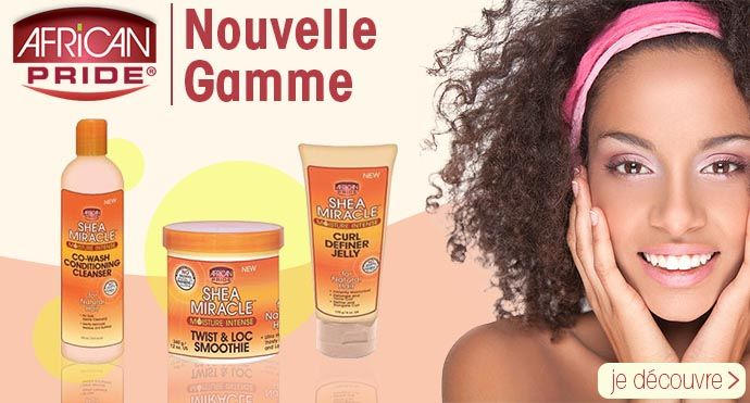 Nouvelle gamme AFRICAN PRIDE