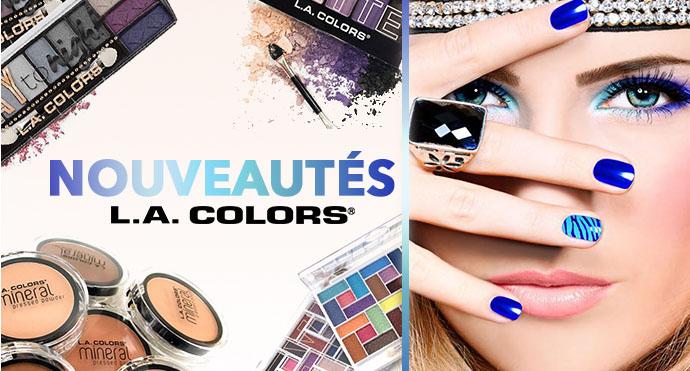 Maquillage nouveautés LA COLORS