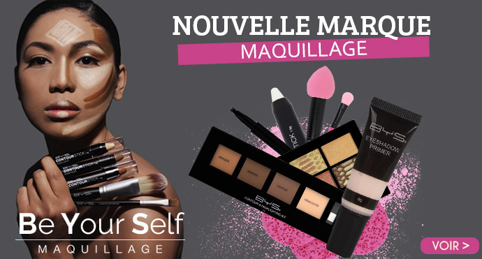 Maquillage BE YOUR SELF