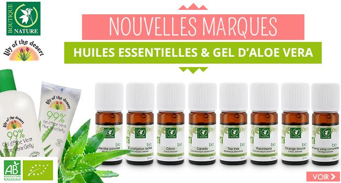Nouvelle marque d huiles essentielles Bio BOUTIQUE NATURE