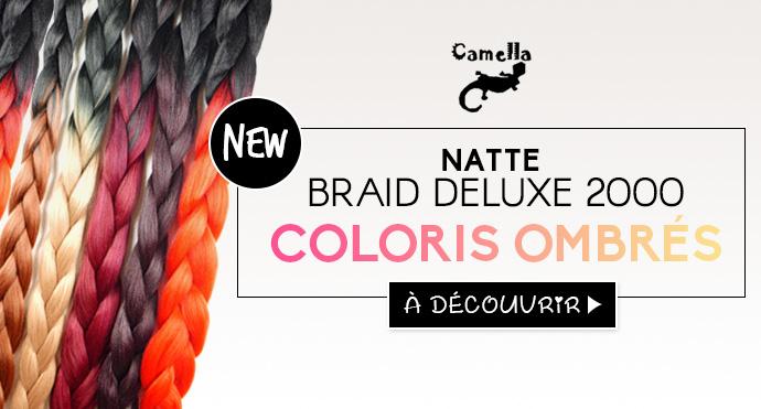 Natte CAMELLA en coloris ombrés