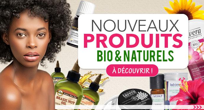 Nouveaux produits bio et naturels