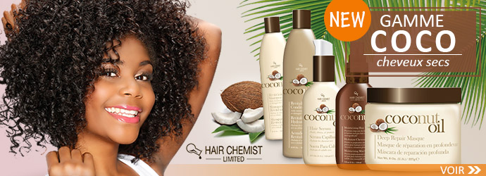 Nouvelle gamme Coco HAIR CHEMIST