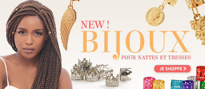 Bijoux pour nattes et tresses