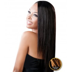 EVER CHOCOLATE weave KERATIN REMY