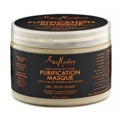 "Masque purifiant African Black Soap ""Purification"" 340g"