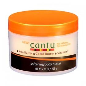 "CANTU Moisturizing Cream KARITE & CACAO 205g ""SOFTENING BODY BUTTER"