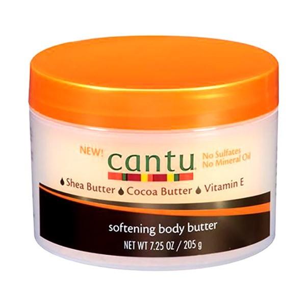 "CANTU Crème hydratante KARITE & CACAO 205g ""SOFTENING BODY BUTTER"""