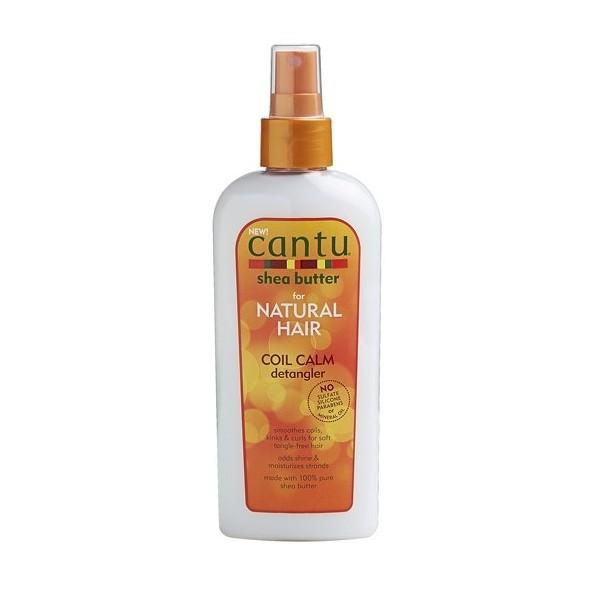 "CANTU Spray démêlant KARITE cheveux bouclés ""coil calm detangler"" 237ml"