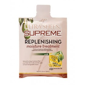 "ULTRA SHEEN Traitement hydratant réparateur OLIVE & KARITE 52ml ""REPLENISHING MOISTURE TREATMENT"""