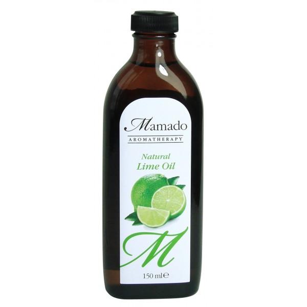 MAMADO AROMATHERAPY Huile de citron vert 100% naturelle (Lime) 150ml