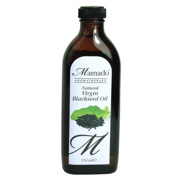MAMADO AROMATHERAPY Huile de cumin noir vierge 100% pure (Blackseed) 150ml