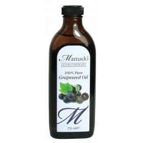 MAMADO AROMATHERAPY Huile de pépins de raisin 100% pure (Grapeseed) 150ml