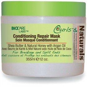 CURLS & NATURALS Masque soin KARITE MIEL COCO 340g (Conditioning Repair Mask)