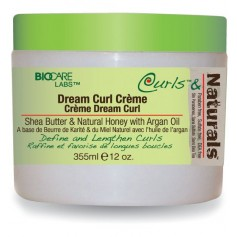 Crème boucles sans rinçage KARITE MIEL ARGAN 340g (Dream Curl)