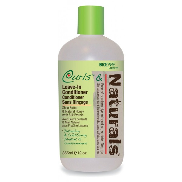 CURLS & NATURALS Démêlant sans rinçage pour boucles 355ml (LEAVE-IN CONDITIONER)