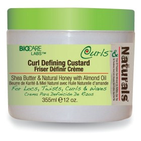 CURLS & NATURALS Gel définition boucles KARITE MIEL AMANDE 340g (CURL DEFINING CUSTARD)