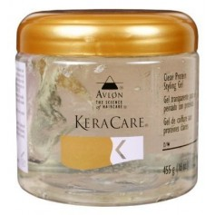 KERACARE Gel coiffant transparent 455g (CLEAR PROTEIN STYLING GEL)