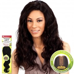 "MILKYWAY closure brésilien SOFT LACE CLOSURE 14"" (Naked)"