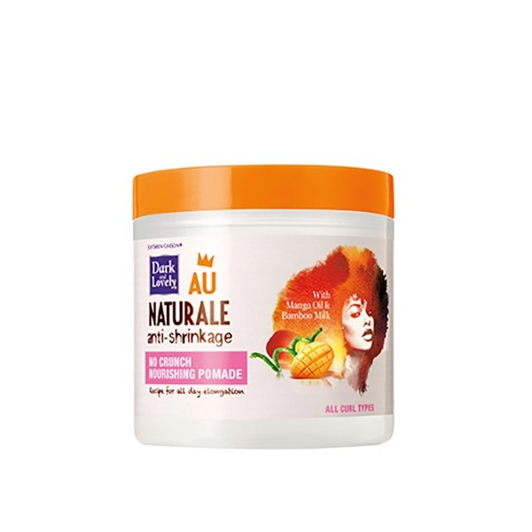 DARK AND LOVELY AU NATURAL Pommade coiffante MANGUE BAMBOU COCO 125g (NO CRUNCH NOURISHING POMADE)