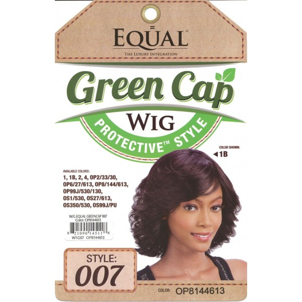EQUAL perruque GREEN CAP 007