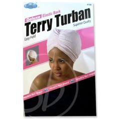 "Bonnet turban ""Terry Turban"" DRE105"