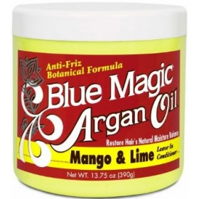 "BLUE MAGIC Masque après-shampooing ARGAN MANGUE CITRON 390g ""Argan Oil"""