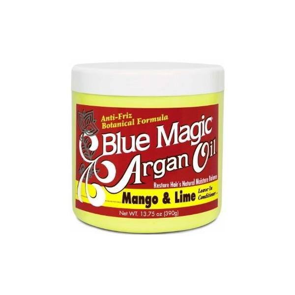 """BLUE MAGIC Masque après-shampooing ARGAN MANGUE CITRON 390g """"Argan Oil"""""""
