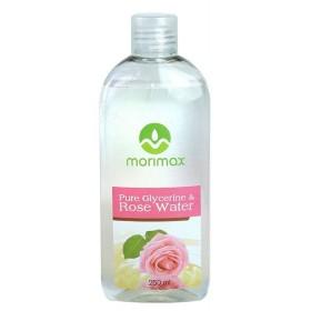 """MORIMAX GLYCERINE OIL & ROSE WATER 100% PURE 250ml """"Glycerine & Rose Water"""