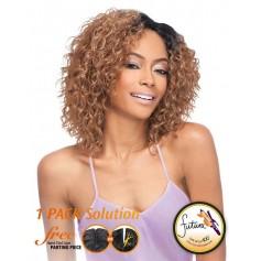 OUTRE tissage PERUVIAN SHORT BUNDLE HAIR 5PCS (Batik) *