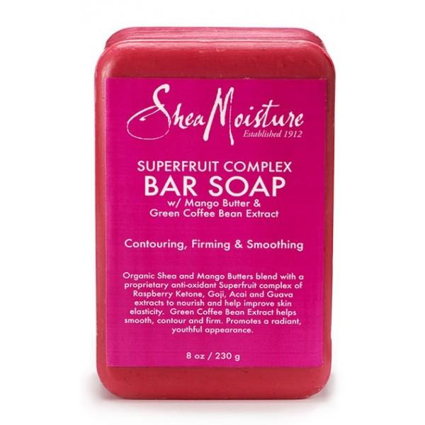"""SHEA MOISTURE Savon Mangue & Café vert """"Soap"""" 230g"""
