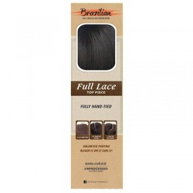 "SENSAS Closure Brésilien 4x4 STRAIGHT 12"" Full Lace (B&N)"