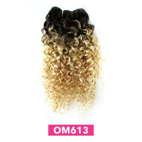 CAREFREE tissage BRAZILIAN OMB COIL CURL 3PCS