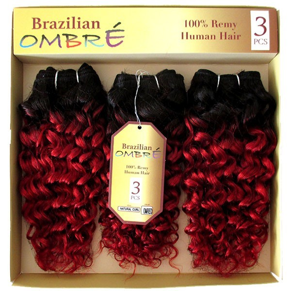 CAREFREE tissage BRAZILIAN OMB NATURAL CURL 3PCS (Sapphire)