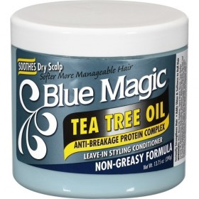 "BLUE MAGIC Masque après-shampooing à l'huile de Théier 390g ""Tea Tree Oil"""