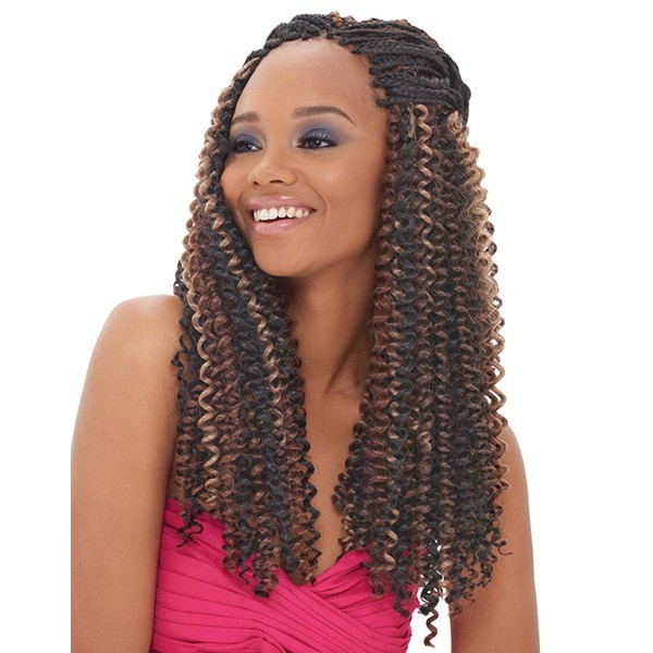 JANET natte WATER WAVE BRAID 24""