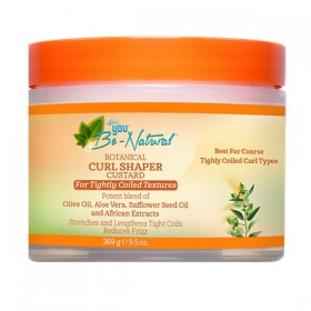 YOU BE NATURAL Créme définition boucles OLIVE ALOE VERA 269g (Curl Shaper Custard)