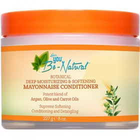 YOU BE NATURAL Masque Mayonnaise ARGAN CAROTTE 227g (Mayonnaise Conditioner)