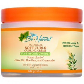 YOU BE NATURAL Créme sublimante boucles OLIVE & ALOE-VERA 284g (Soft Curls)