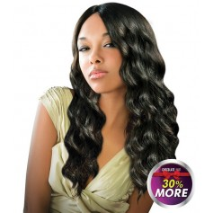 "EVER CHOCOLATE tissage EUROPEAN WAVE 22"" 24"" (Luna)"