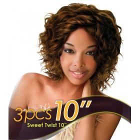 "EVER CHOCOLATE weave SWEET TWIST 3PCS 10"" (Luna)"