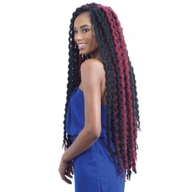 GLANCE natte LONG SINGLE TWIST OUT 30""