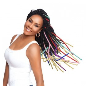 VIVICA FOX natte YARN TWIST (Virginia)