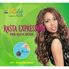 BIBA natte PRE-LOCK BODY (Rasta Expression)