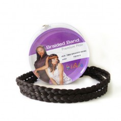 BIBA bandeau natté TWO BRAIDED BAND