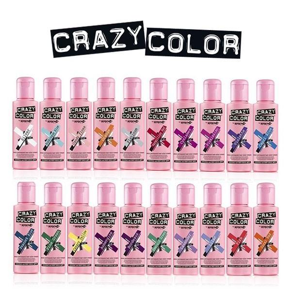 CRAZY COLOR Coloration semi-permanente CRAZY COLOR 100ml
