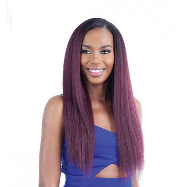 """MODEL tissage BLOW OUT TEXTURE STRAIGHT 7pcs 14""""16""""18"""" (Pose)"""