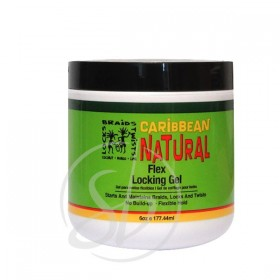 CARIBBEAN NATURAL Gel pour locks COCO MANGUE & CITRON 177ml (Flex Locking Gel)