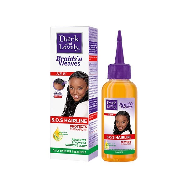 DARK AND LOVELY Sérum protecteur & fortifiant pour tresse ou tissage 100ml (SOS HAIRLINE)