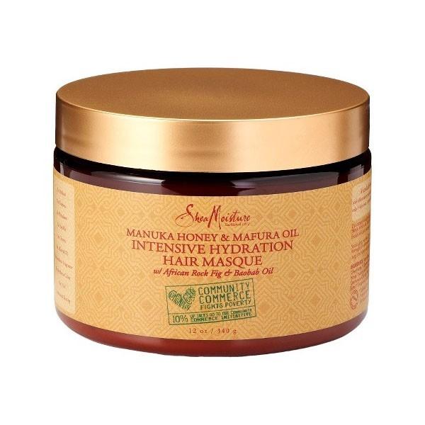 SHEA MOISTURE Masque hydratant MANUKA MAFURA 340g (Hair Masque)
